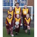 The Oaks Girls' Netball Team Vs Whitton