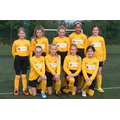 Third place at the U11 Girls' Football Tournament
