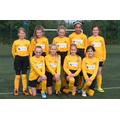 Third place at the U11 Girls' Football Tournament