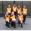The Oaks Girls' Netball Team Vs Dale Hall
