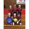 The Oaks Girls' Futsal Team