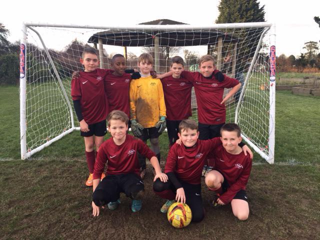 Boys' Football A-Team Vs Morland