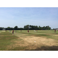 The Oaks Girls' Cricket Team in action
