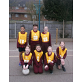 The Oaks Girls' Netball Team Vs Whitehouse
