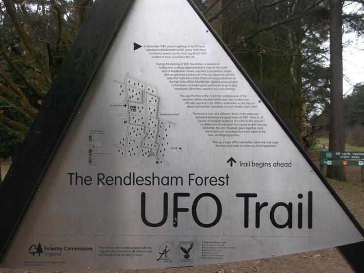 Redlesham Forest - UFO hunt!