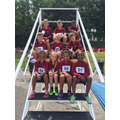 The Oaks Athletics Team at the County Finals