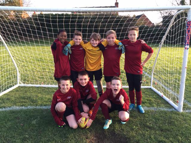 Boys' Football A-Team Vs Claydon