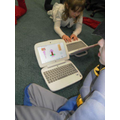 Buggy making and drawing using ICT.