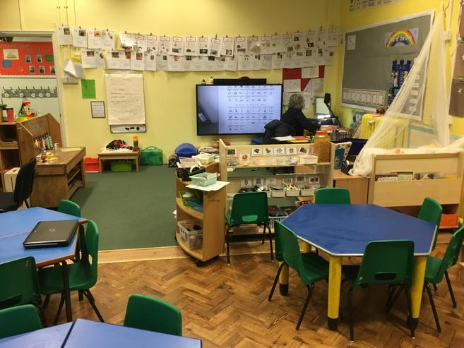 We keep our classroom tidy