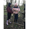 Forest school as part of our re-mastering me!