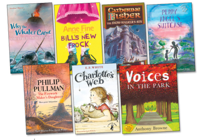 Year 4 reading spine