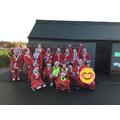 Santa fun run for Loros!