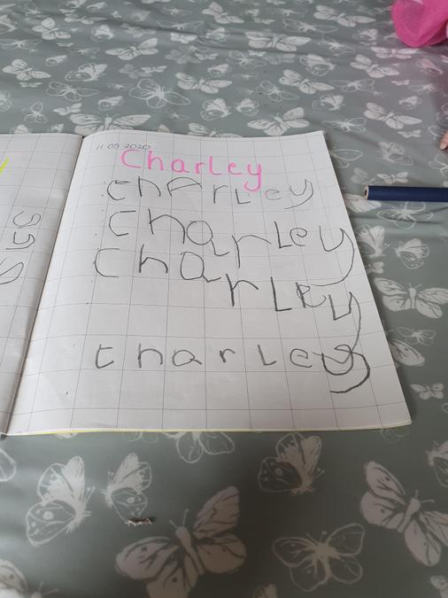 Super name work Charley
