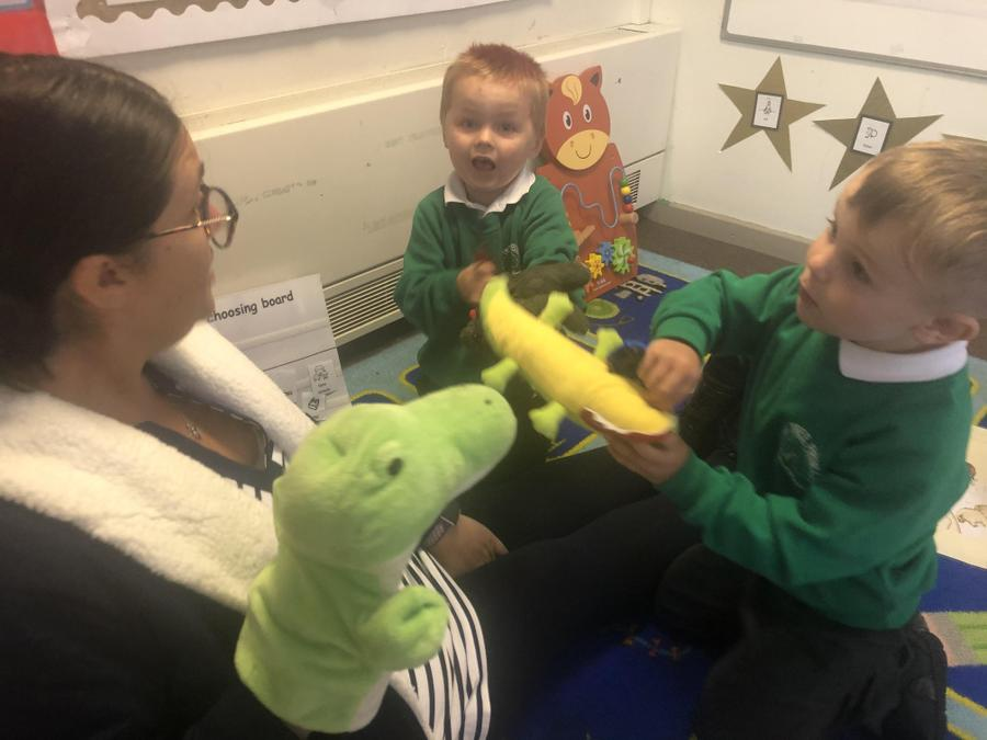 A snappy story with Mrs Ward