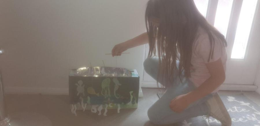 marionette sea creatures!