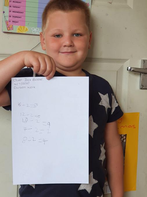division calculations