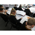 Pupils writing in Year 3 this week...