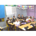 Pupils in Year 5 Kipchoge Class this week, learning to play the ukulele.