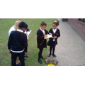 Pupils in Year 4 applying their knowledge about Norman castles
