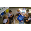 Having fun with capacity and measure in Year 1...