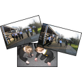 Pupils in Year 3 testing air-resistance...