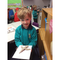 In art we have been making clay animals.