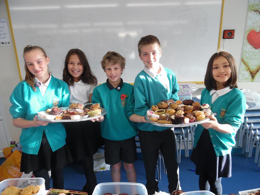 A big thank you to all who donated either money or cakes to the Macmillan cake sale during Open Hour. We raised just over £200.