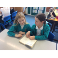 Roald Dahl Share-a-Story in Cheetah's classroom
