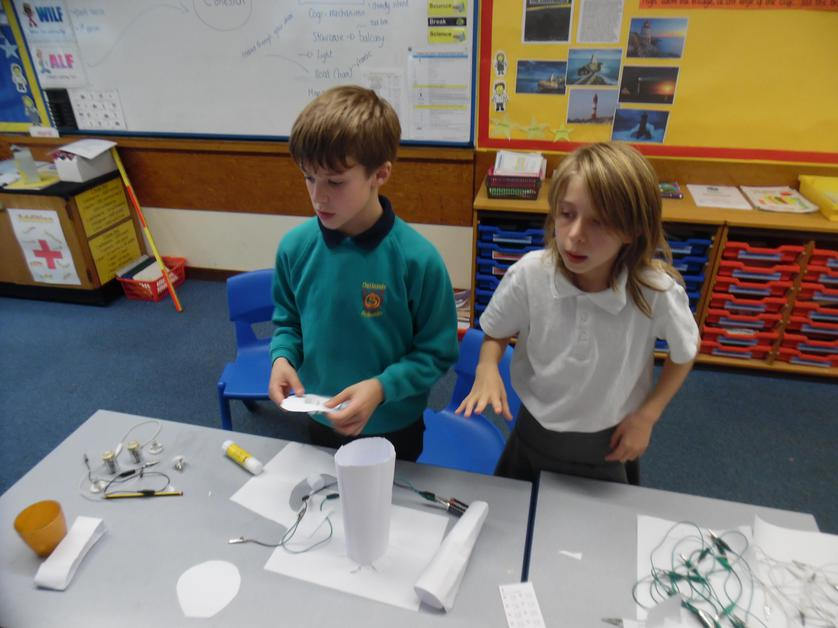 Creating an everyday object that could light up.