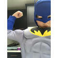 Batman ready to tackle Joe Wicks' PE