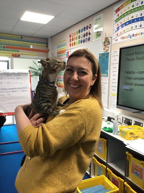 Miss McNamara came for a visit