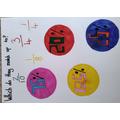 Lilly's Maths work