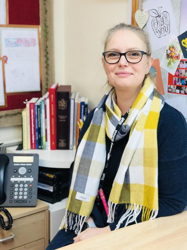 Mrs Kate Perks - 1:1 Teaching Assistant