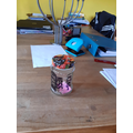 Ethan's finished kindness jar