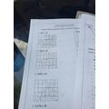 Jailah's maths work