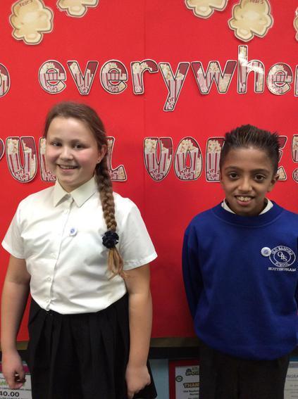 Class 13 Mathilde and Abdullah