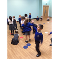 Dance workshop fun.