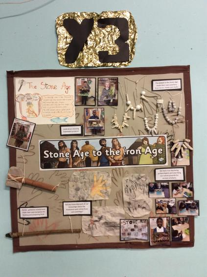 Year 3- Stone age to the Iron age