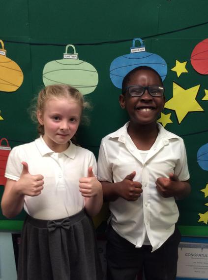 Class 8 - Grace and Joshua