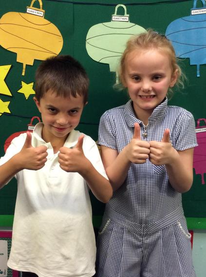 Class 5 - James and Sophia