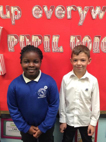 Class 7 - Ethan and Mojetoluwa