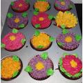 Red Velvet Marshmallow Buttercream Cakes