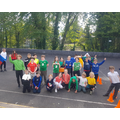 Team colour dress up day