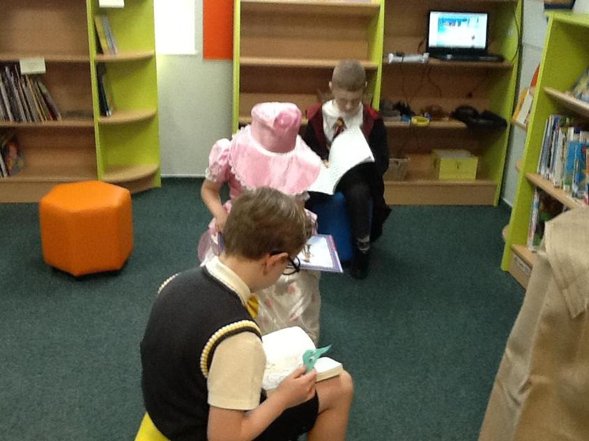 2AA had a fantastic World Book Day