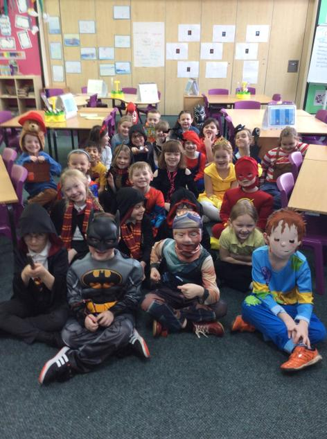 2SW Celebrating World Book Day.