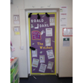 We enjoyed working collaboratively to produce a door based on 'The Witches'