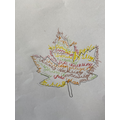 Writers: How can I describe the senses of Autumn using a Calligram?