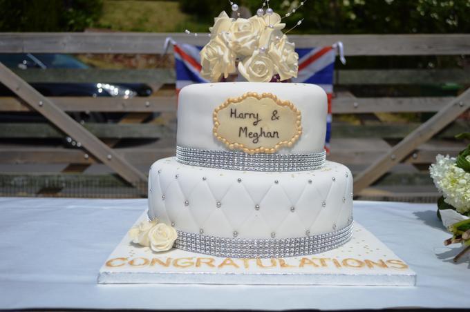 The cake was amazing