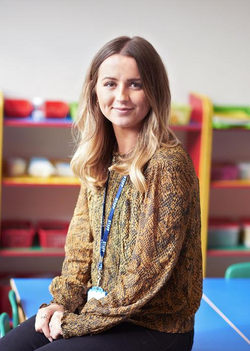 Miss Pritchett, Class 1