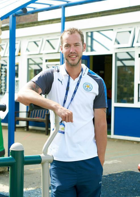 Mr Robinson, PE Teacher